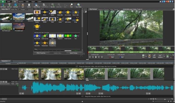 برنامج VideoPad Video Editor