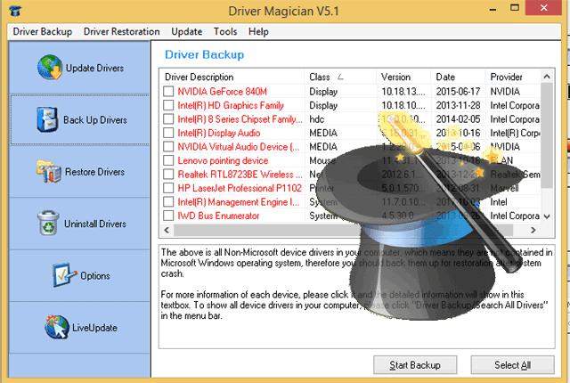 ماجيك درايفر لتثبيت التعريفات عالكمبيوتر