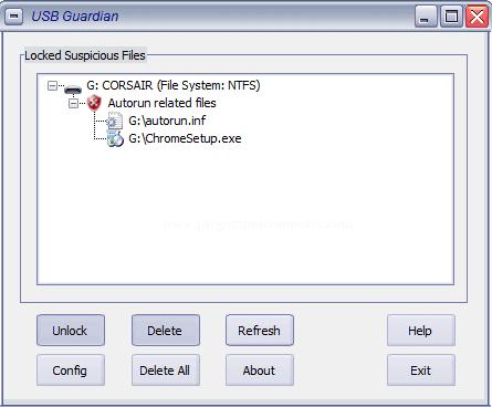 تحميل برنامج أزالة فيروسات الفلاشات USB Guardian اخر اصدار