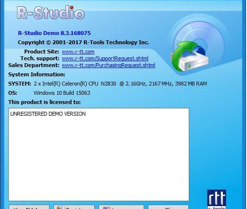 تحميل برنامج استعادة الملفات المحذوفة للكمبيوتر R-Studio