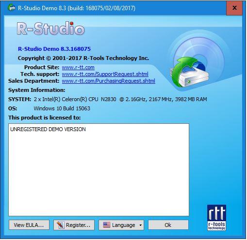 تحميل برنامج ار ستوديو للكمبيوتر لاسترجاع الملفات المحذوفة