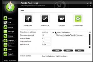 تحميل برنامج الحماية ومكافحة الفيروسات Amiti Antivirus 2015