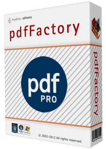 تحميل برنامج إنشاء ملفات البي دي إف للكمبيوتر pdfFactory