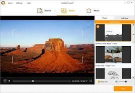 دمج الصور في فيديو اون لاين