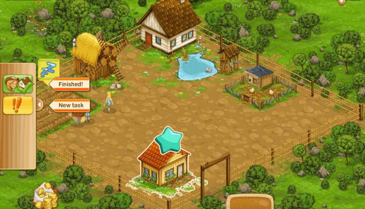 لعبة المزرعة الكبيرة اون لاين